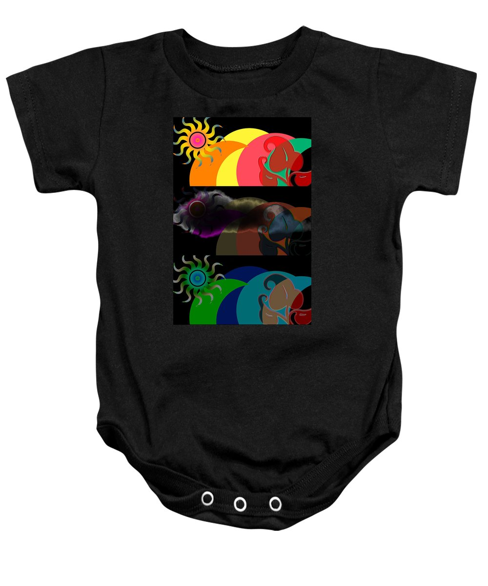 Baby Onesie featuring the digital art Environment by Clayton Bruster