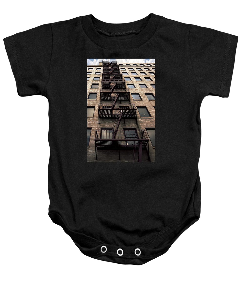 Escape Baby Onesie featuring the photograph Escape by Thomas Morris