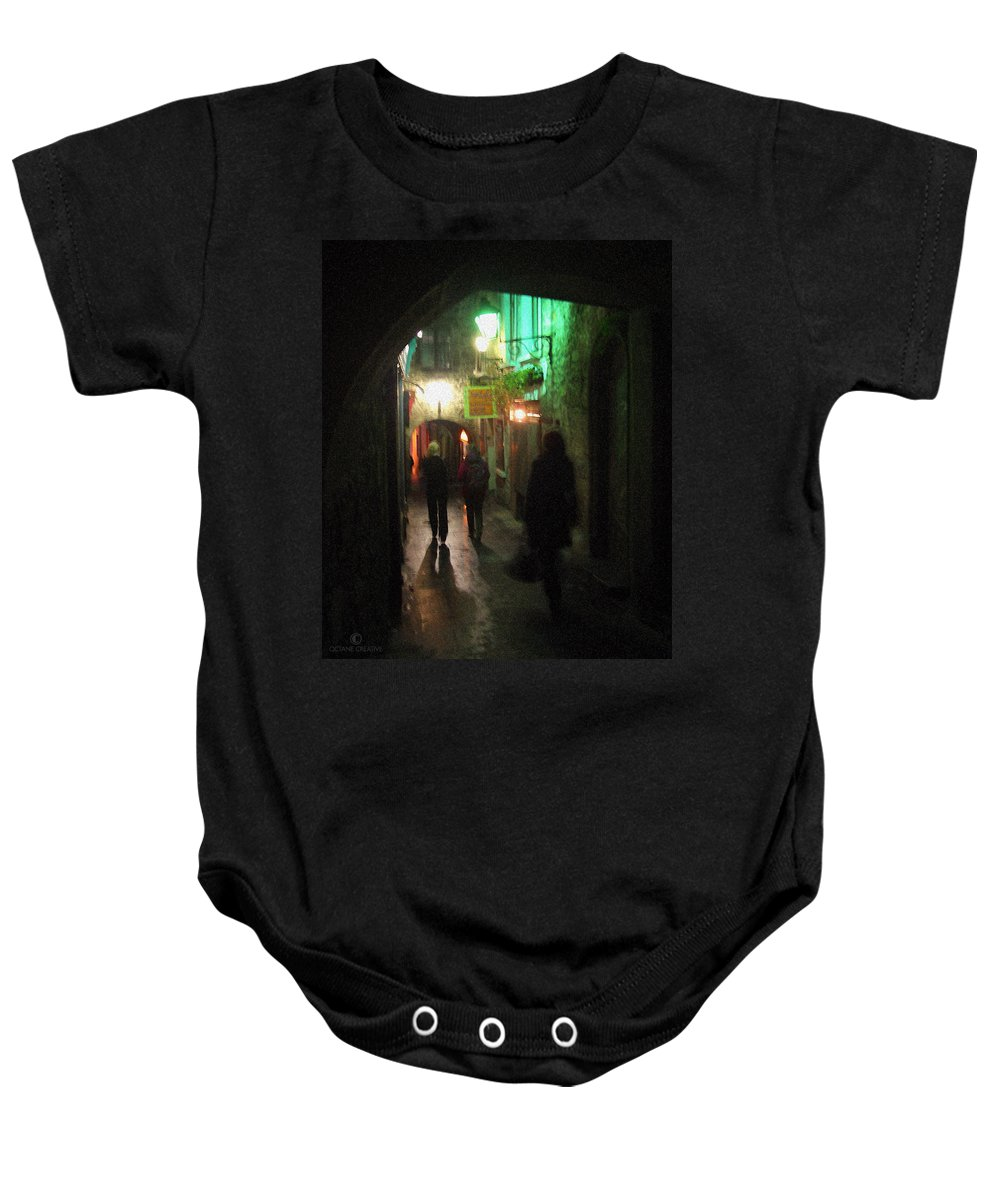 Ireland Baby Onesie featuring the photograph Evening Shoppers by Tim Nyberg