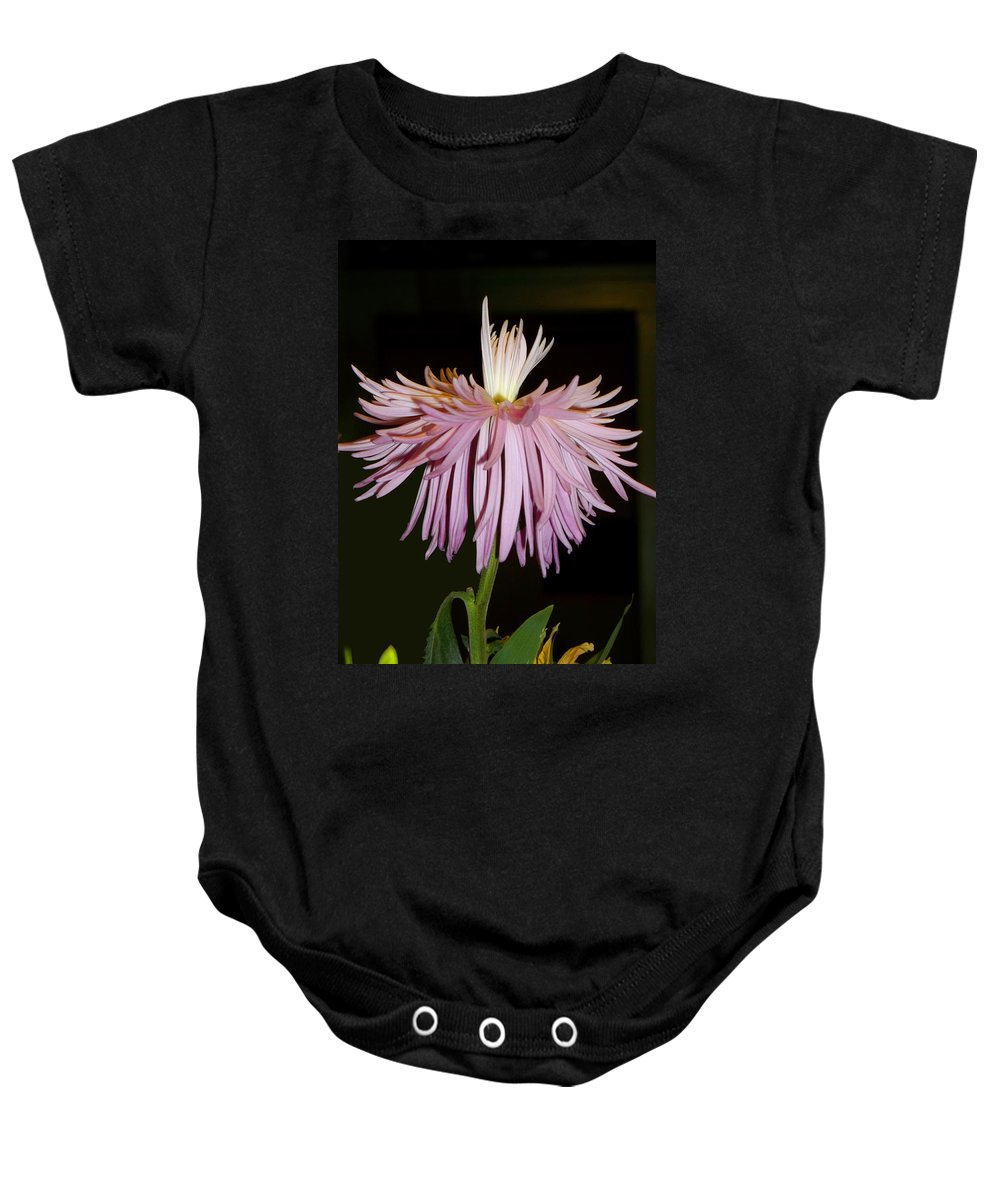 Mum Baby Onesie featuring the photograph Exotic Mum by Anne Cameron Cutri