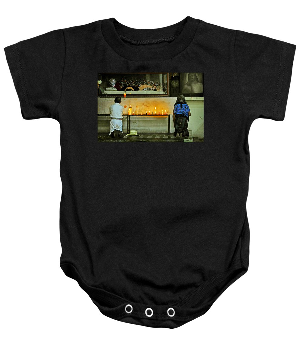 Skip Hunt Baby Onesie featuring the photograph Faith by Skip Hunt