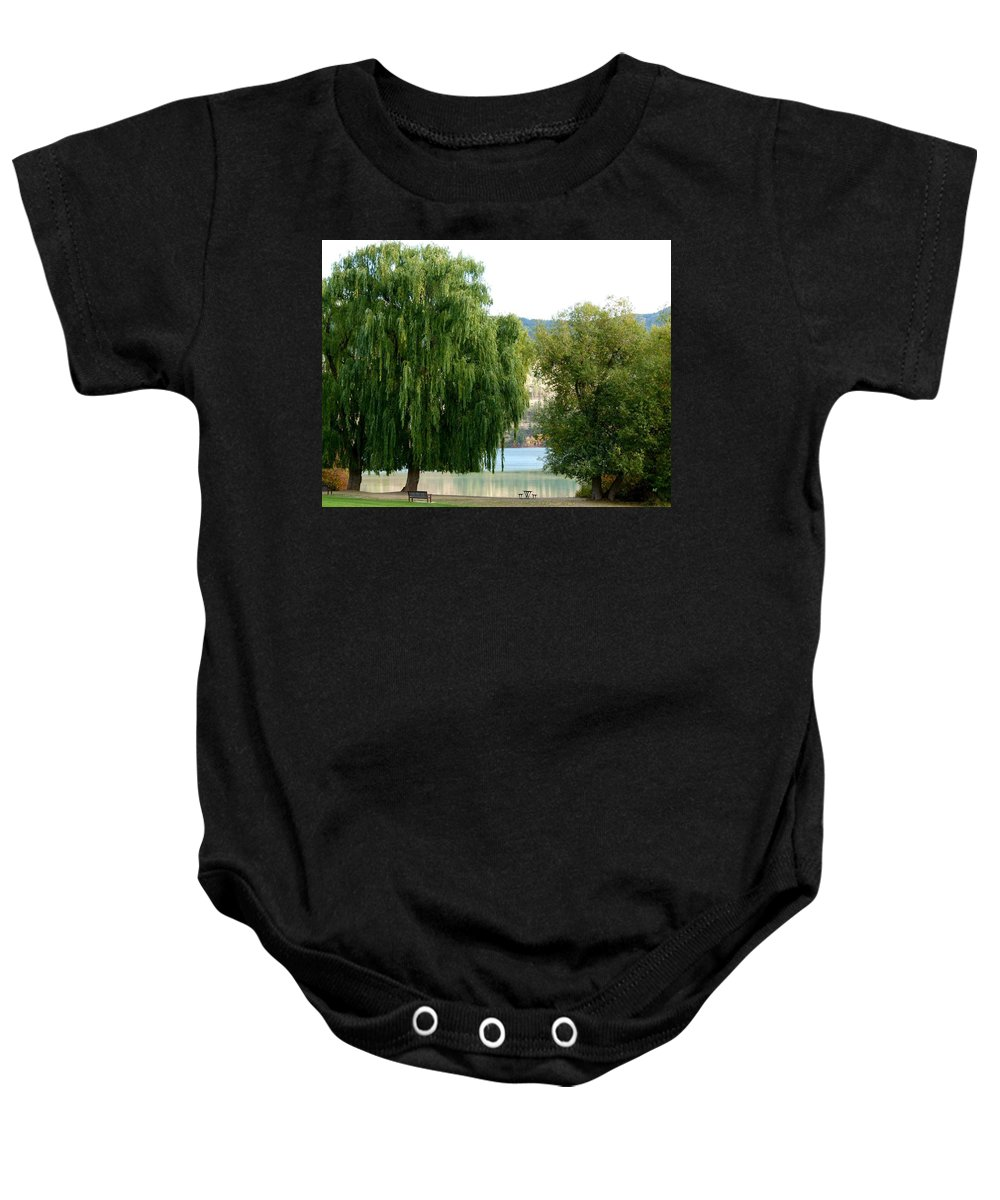 Kaloya Park Baby Onesie featuring the photograph Fall In Kaloya Park 6 by Will Borden