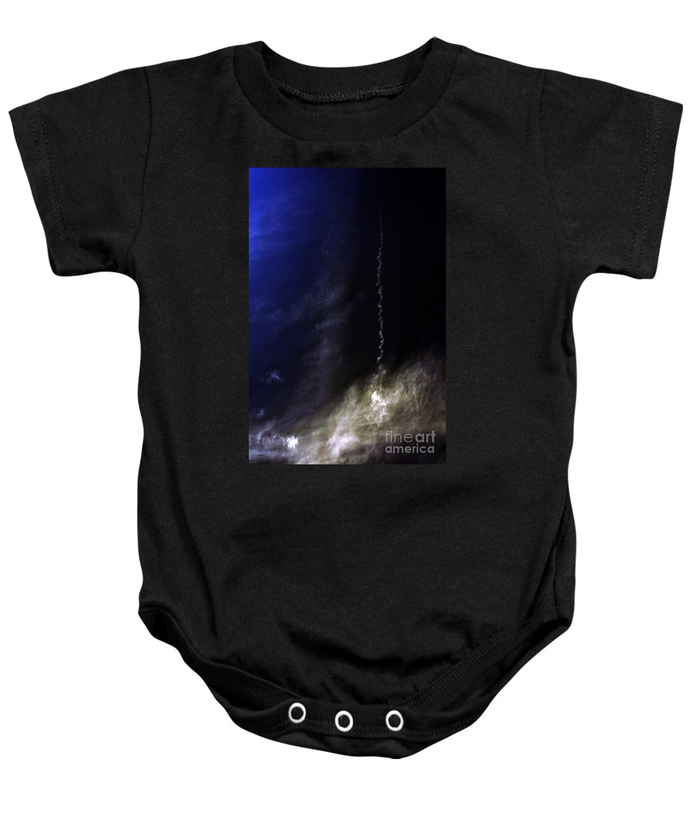 Clay Baby Onesie featuring the photograph Fallen by Clayton Bruster