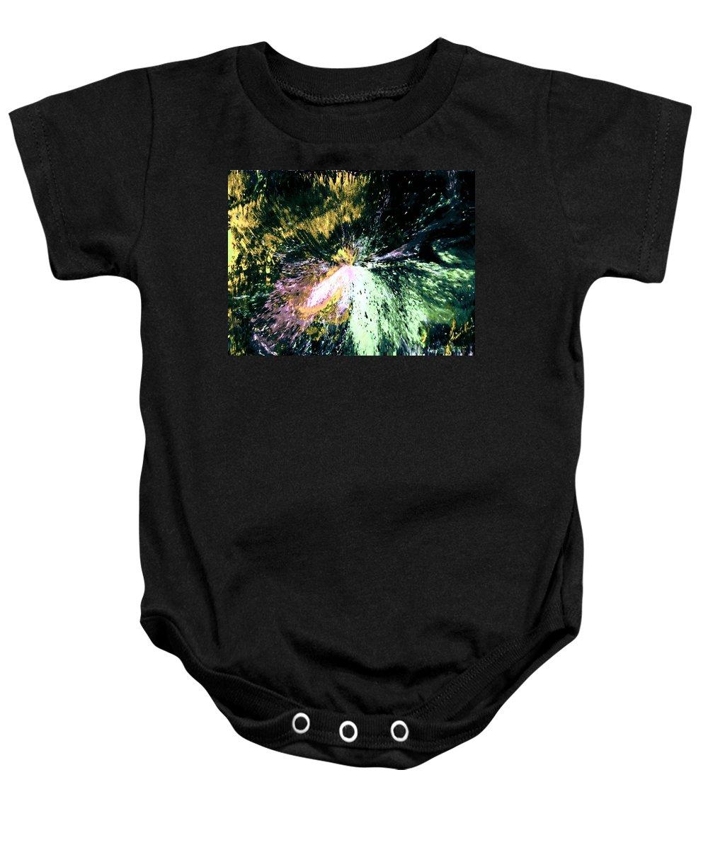 Digital Art Baby Onesie featuring the digital art Fanfare by Kendall Eutemey