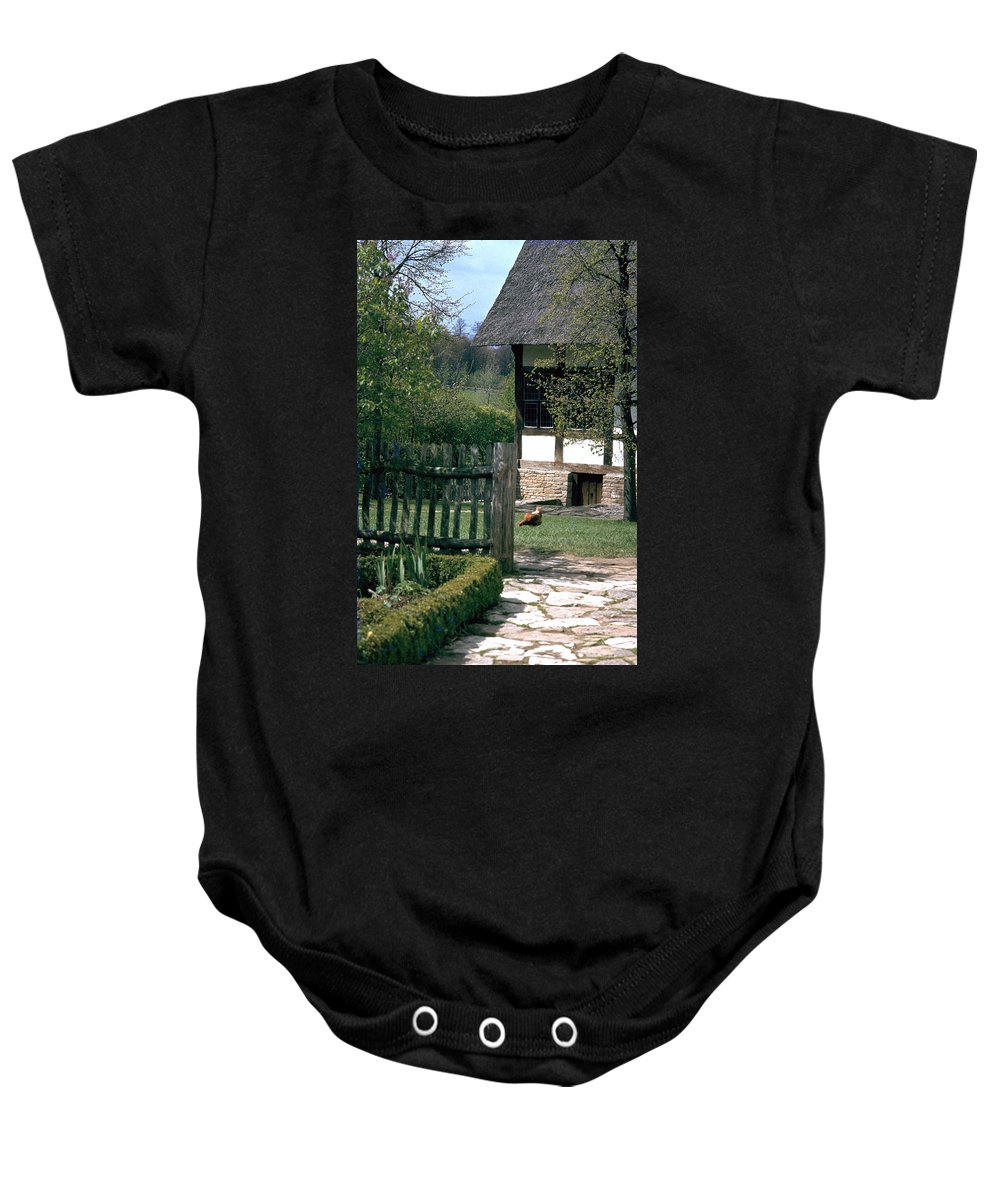 German Baby Onesie featuring the photograph Farm by Flavia Westerwelle