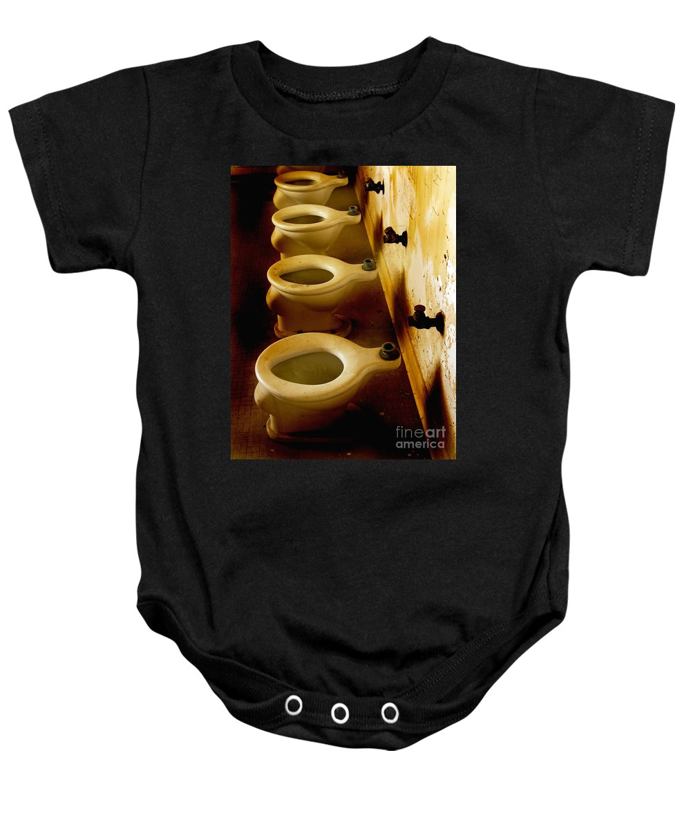California History Baby Onesie featuring the photograph Feeling Disconnected by Norman Andrus