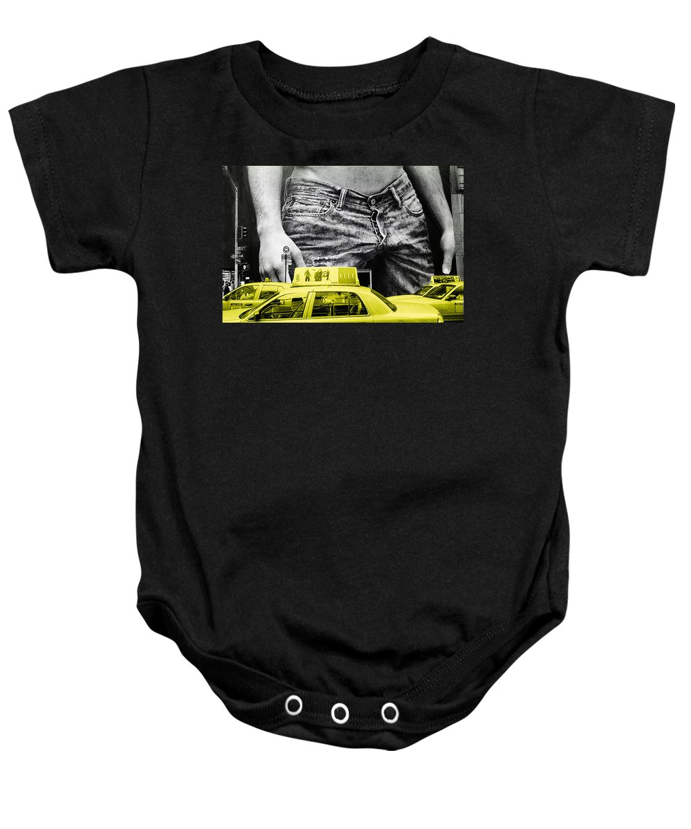 Photo Baby Onesie featuring the photograph Fifth Avenue- Ny by Enrique Crusellas