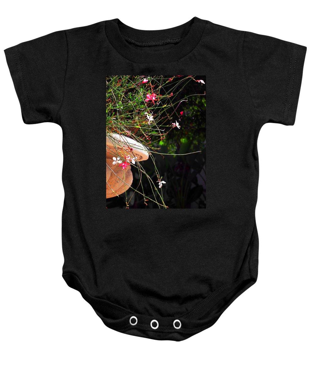 Filigree Baby Onesie featuring the photograph Filigree-iii by Susanne Van Hulst