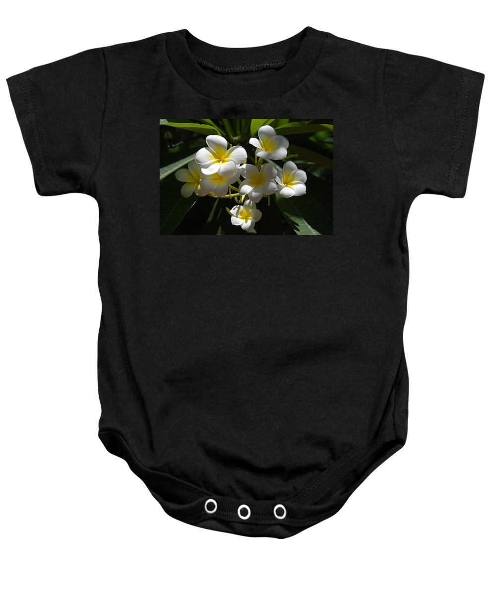 Nature Baby Onesie featuring the photograph Floral Beauties by Rob Hans