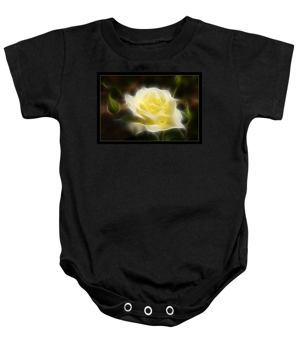 Flower Baby Onesie featuring the photograph Floral Dream by Ricky Barnard