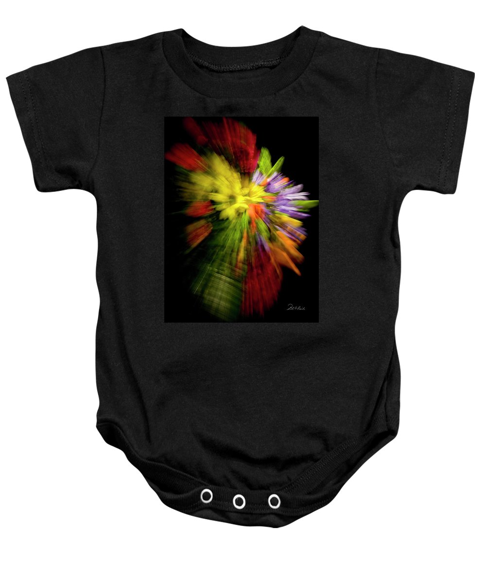 Flowers Baby Onesie featuring the photograph Floral Explosion by Frederic A Reinecke