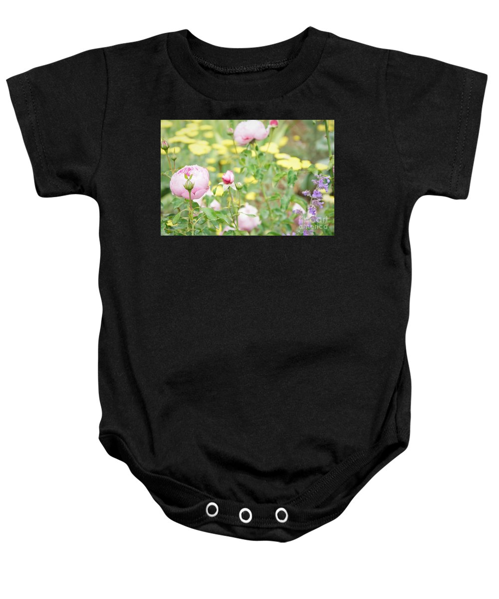 Flowers Baby Onesie featuring the photograph Flower Garden Bouquet by Bob Martin