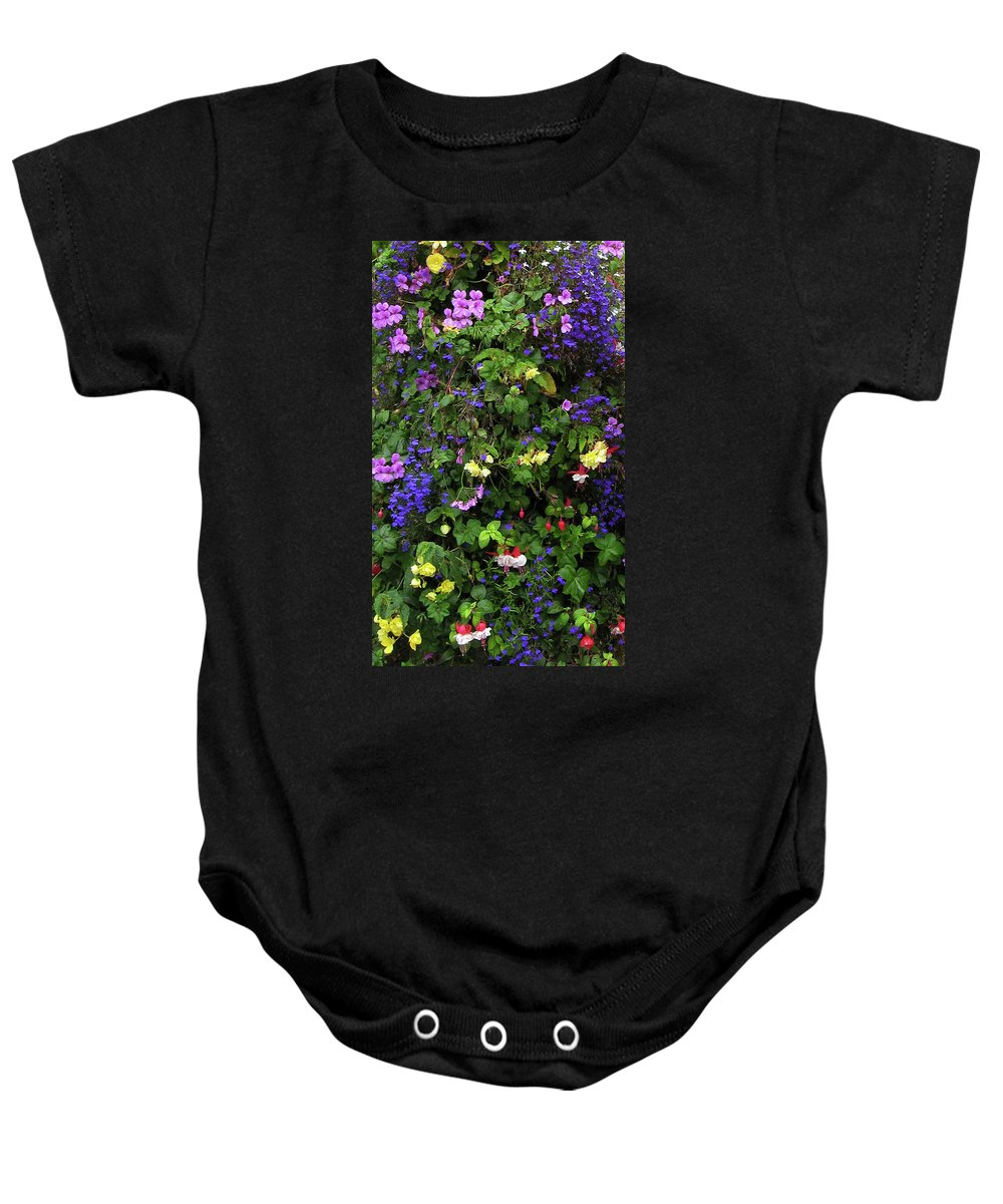 Flower Baby Onesie featuring the photograph Flower Power by Kurt Van Wagner