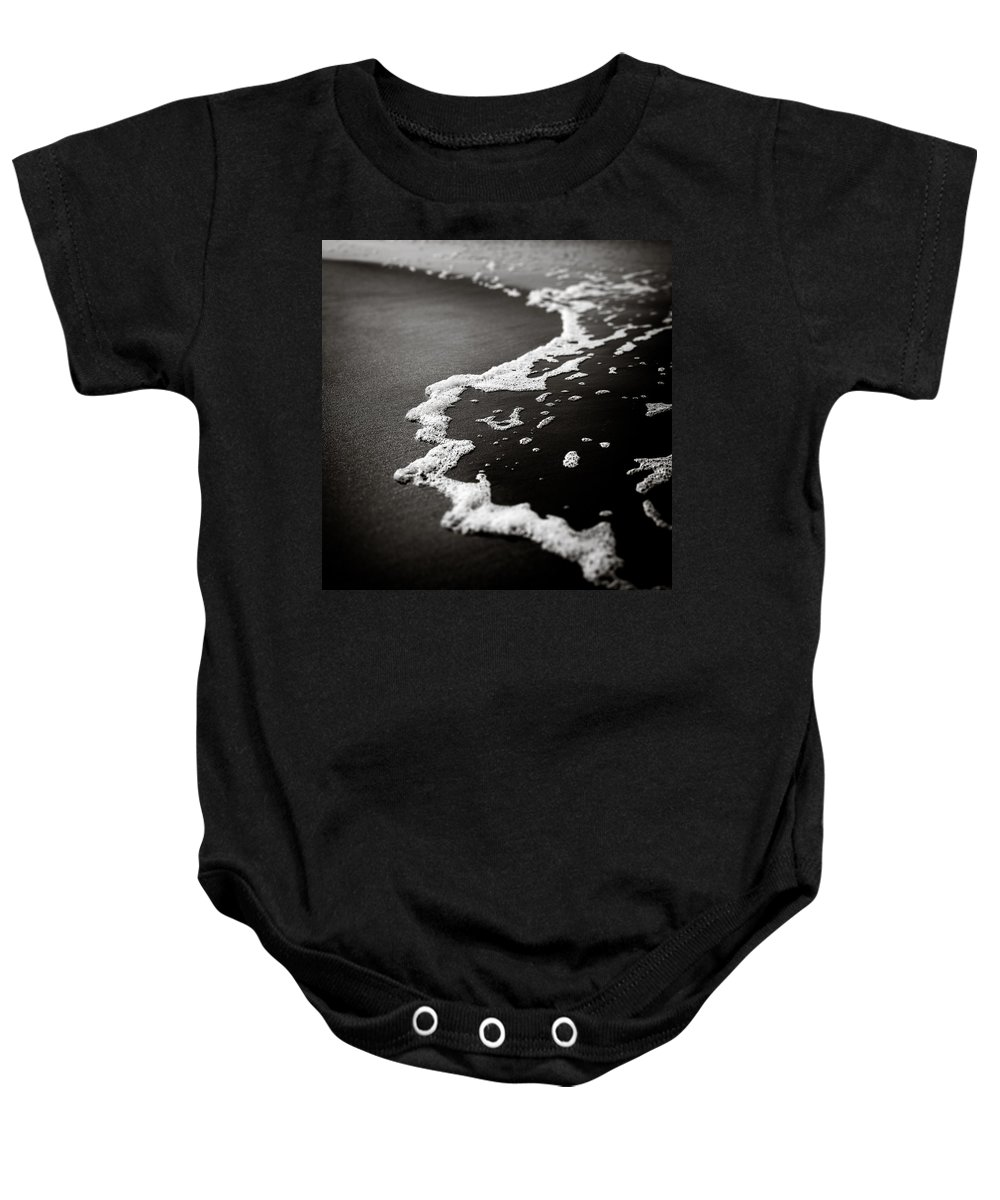 Foam Baby Onesie featuring the photograph Foam by Dave Bowman