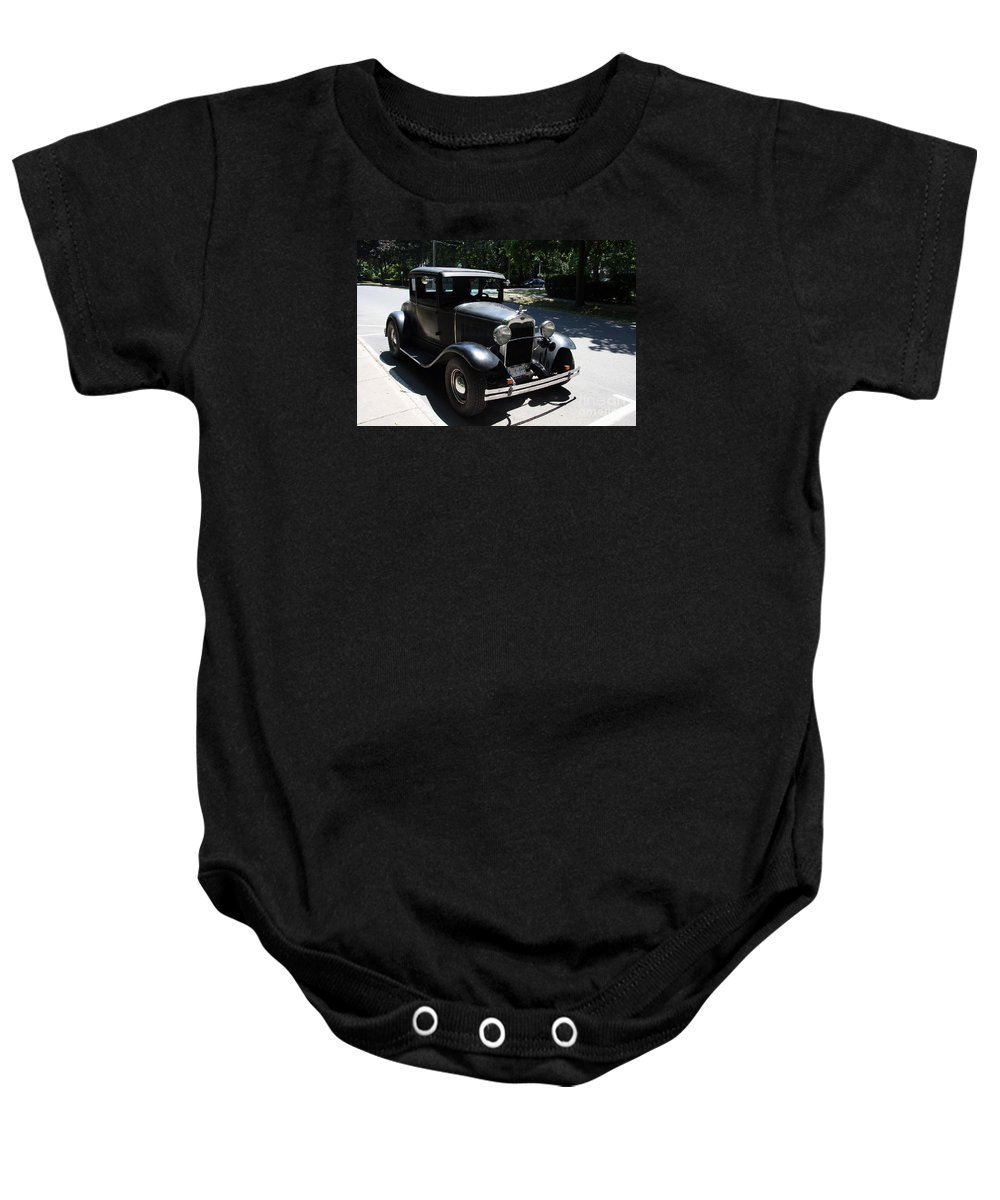 Ford A Baby Onesie featuring the photograph Ford A 1931 by Christiane Schulze Art And Photography