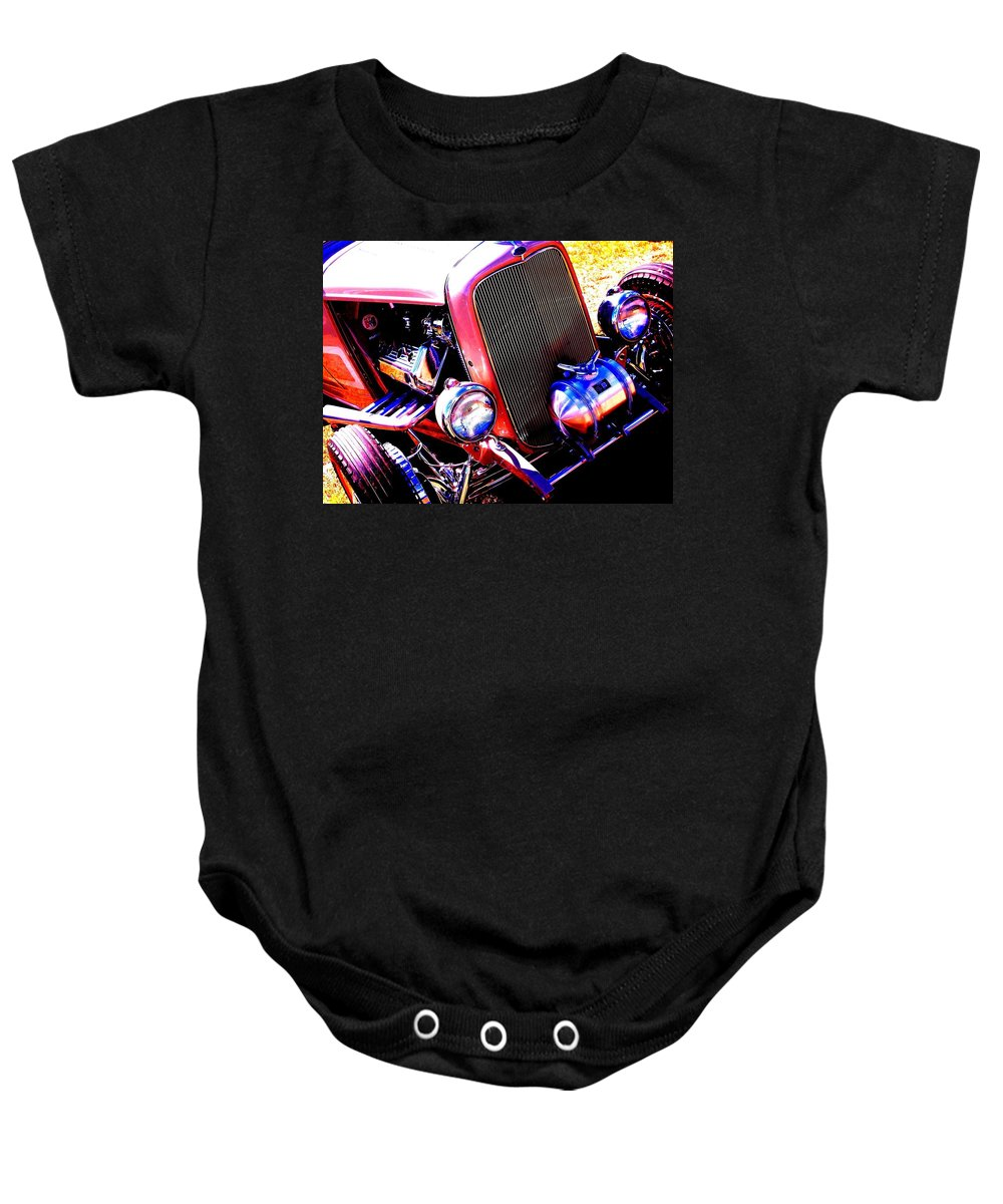 Akers Baby Onesie featuring the photograph Ford Rat by Edmund Akers