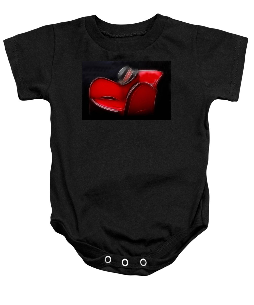 Hat Baby Onesie featuring the photograph Forget by Manfred Lutzius