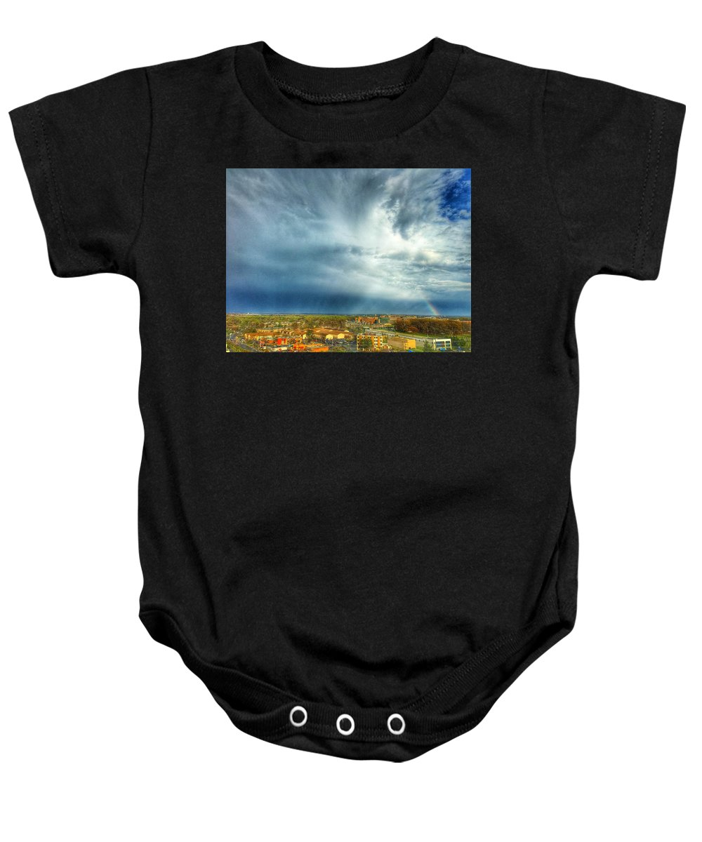 Clouds Baby Onesie featuring the photograph Founds Clouds by Kate McGlynn