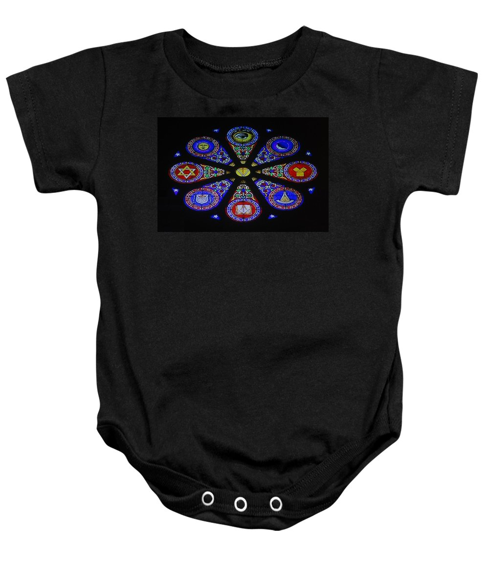 Free Mason Baby Onesie featuring the photograph Free Masons by Rob Hans