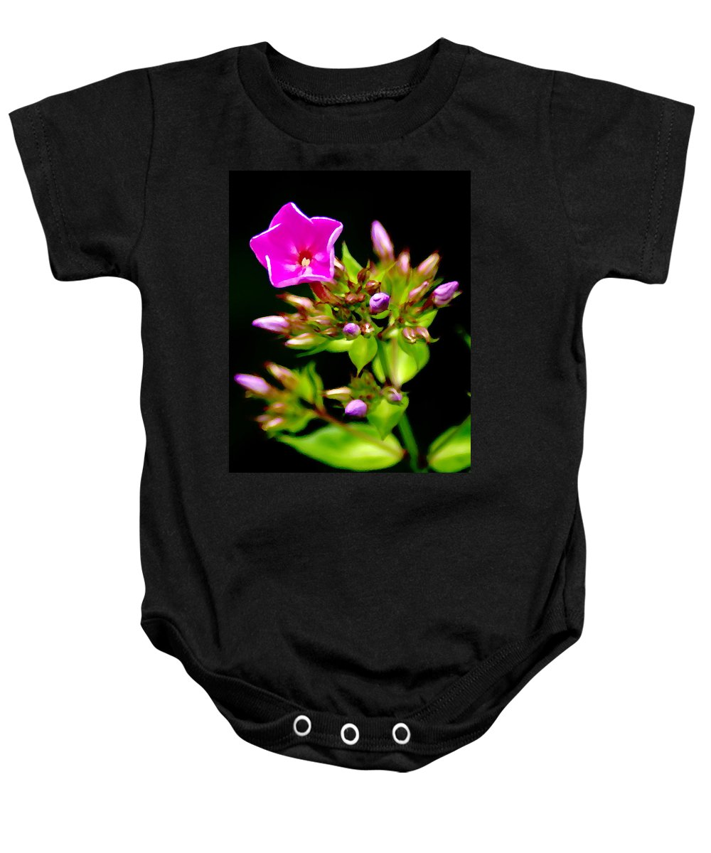 Flowers Baby Onesie featuring the photograph Fresh And Happy 2 by Ben Upham III