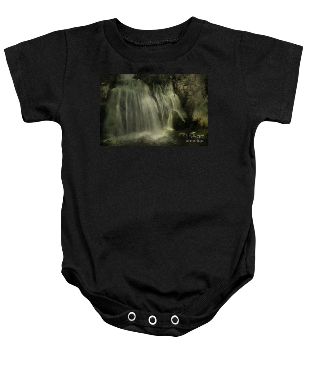 Water Baby Onesie featuring the photograph Frog Rock by Roland Stanke