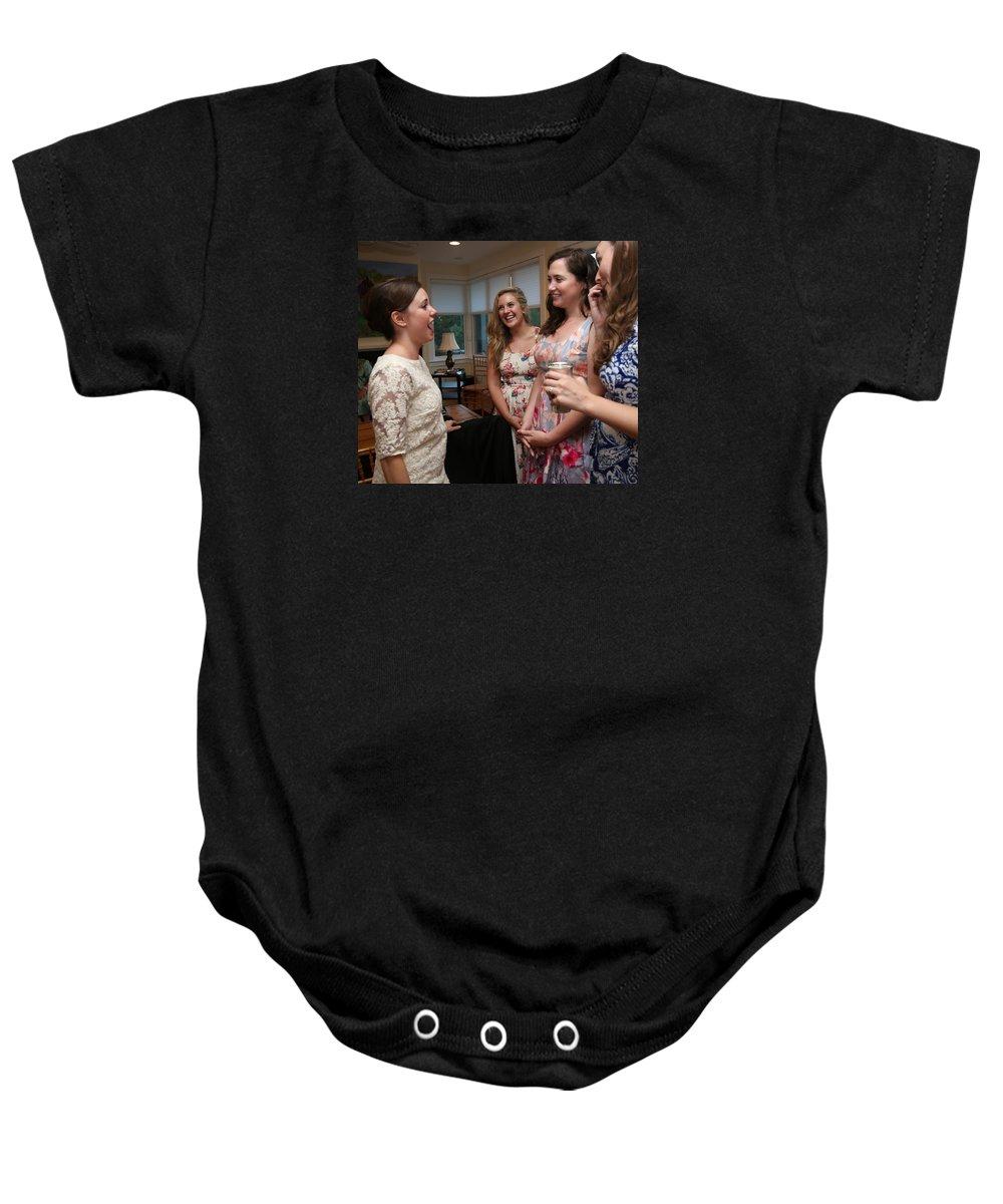 Garrett Baby Onesie featuring the photograph Garrett-365 by Stephanie Klein-Davis