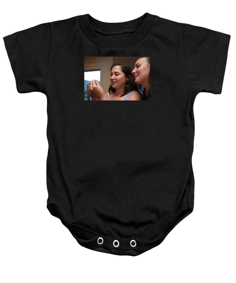 Garrett Baby Onesie featuring the photograph Garrett-368 by Stephanie Klein-Davis