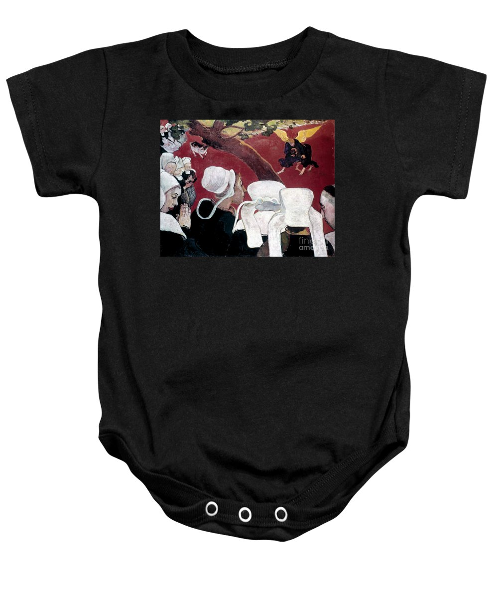 1888 Baby Onesie featuring the photograph Gaugin: Vision, 1888 by Granger