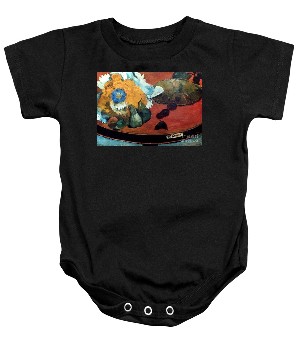 1888 Baby Onesie featuring the photograph Gauguin: Fete Gloanec, 1888 by Granger
