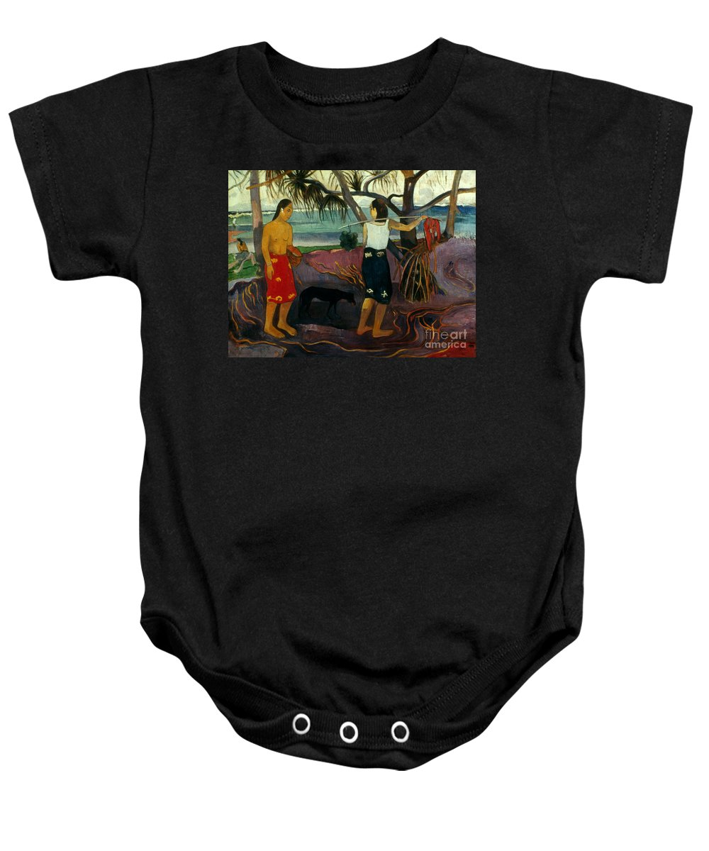 1891 Baby Onesie featuring the photograph Gauguin: Pandanus, 1891 by Granger