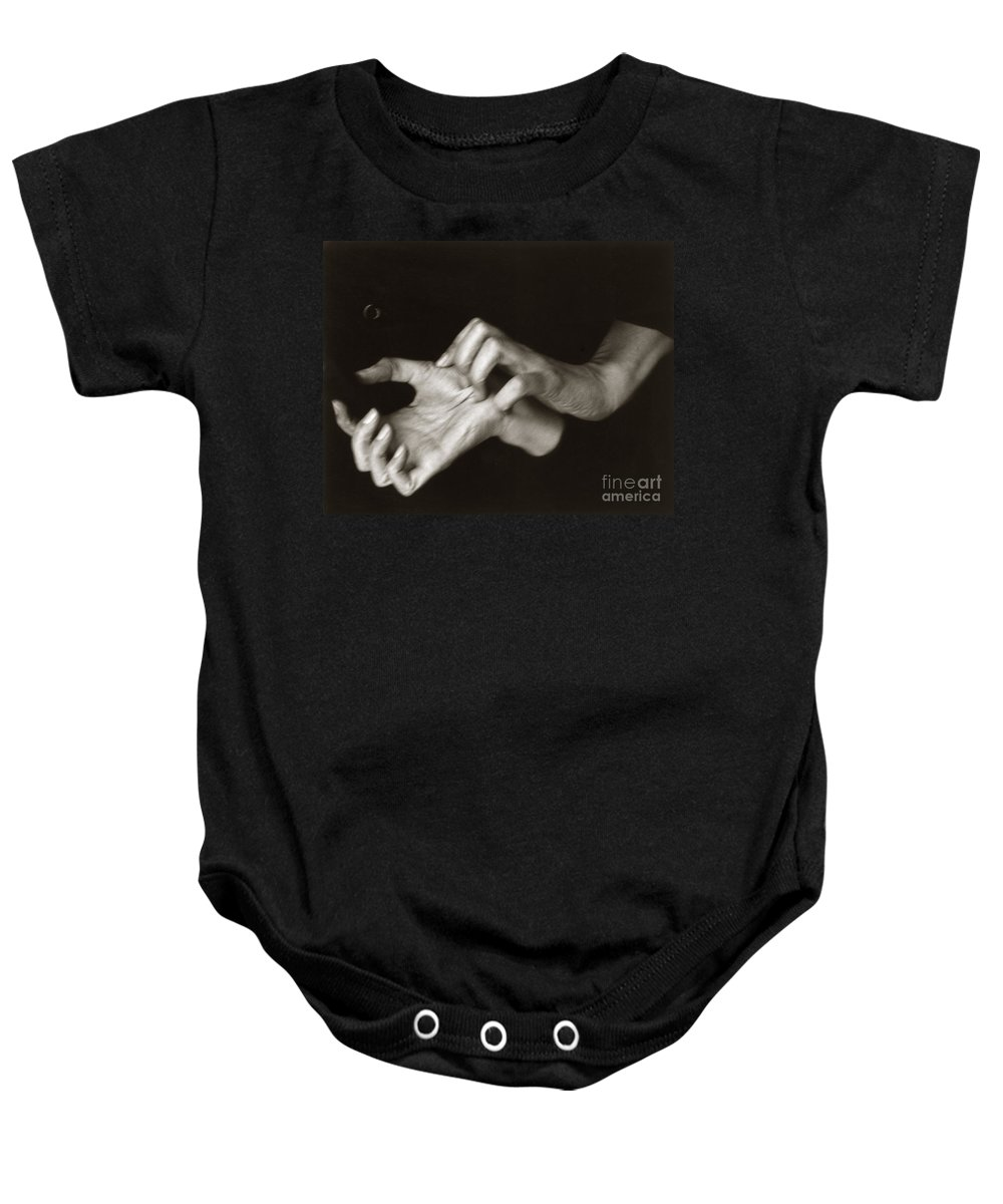 1918 Baby Onesie featuring the photograph Georgia Okeeffe (1887-1986) by Granger