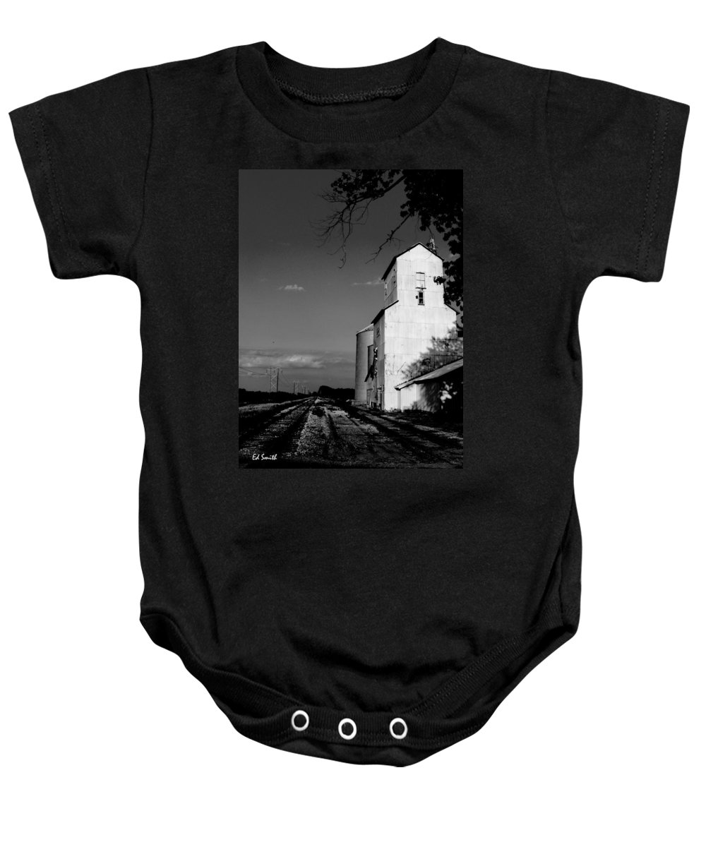 Original Photograph Baby Onesie featuring the photograph Ghost Town by Ed Smith