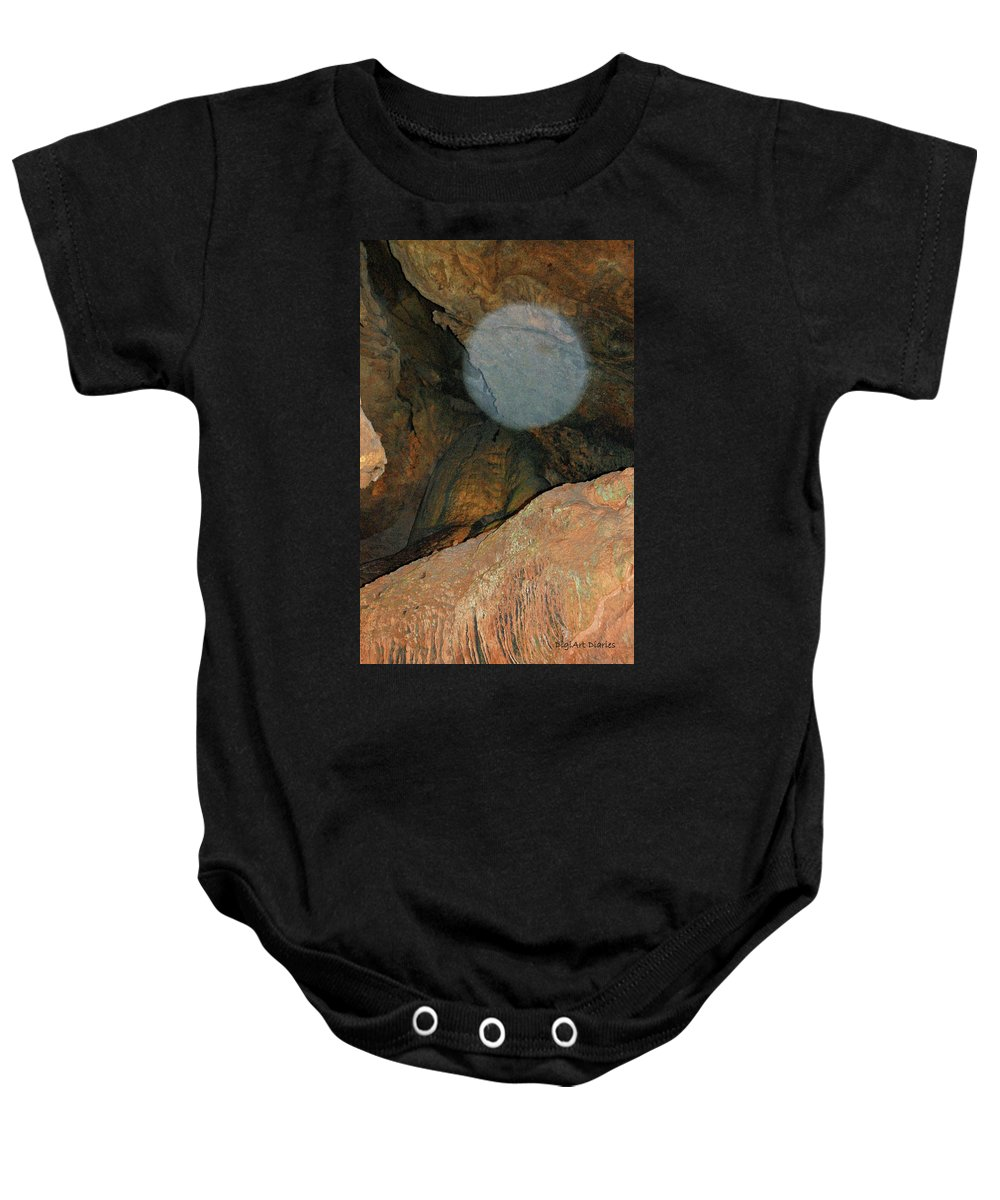 Orb Baby Onesie featuring the photograph Ghostly Presence by DigiArt Diaries by Vicky B Fuller