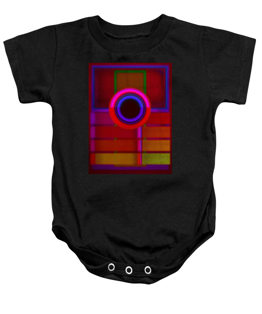 Portal Baby Onesie featuring the painting Ginza by Charles Stuart
