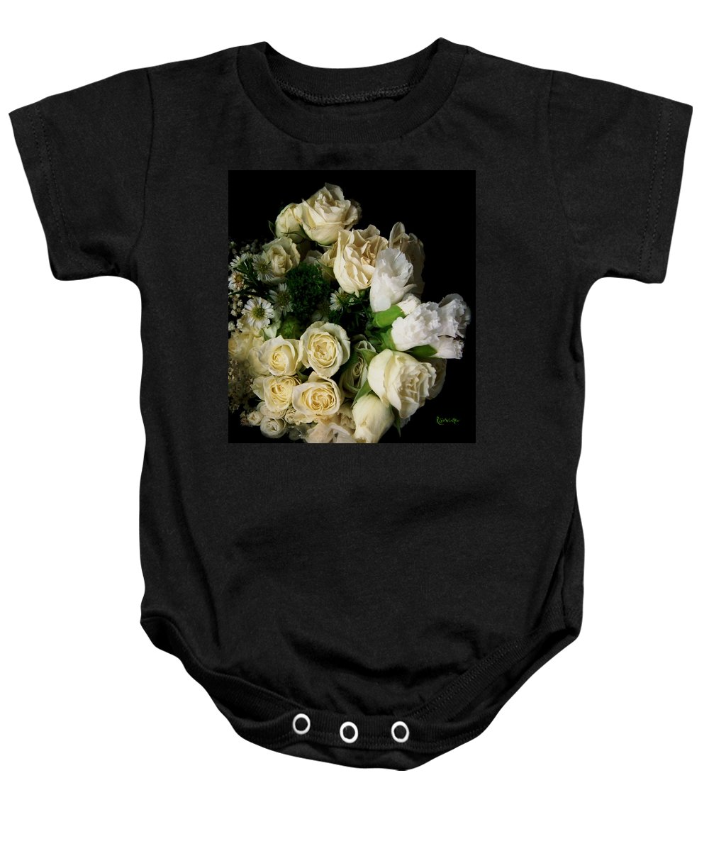 Roses Baby Onesie featuring the photograph Glamour by RC deWinter