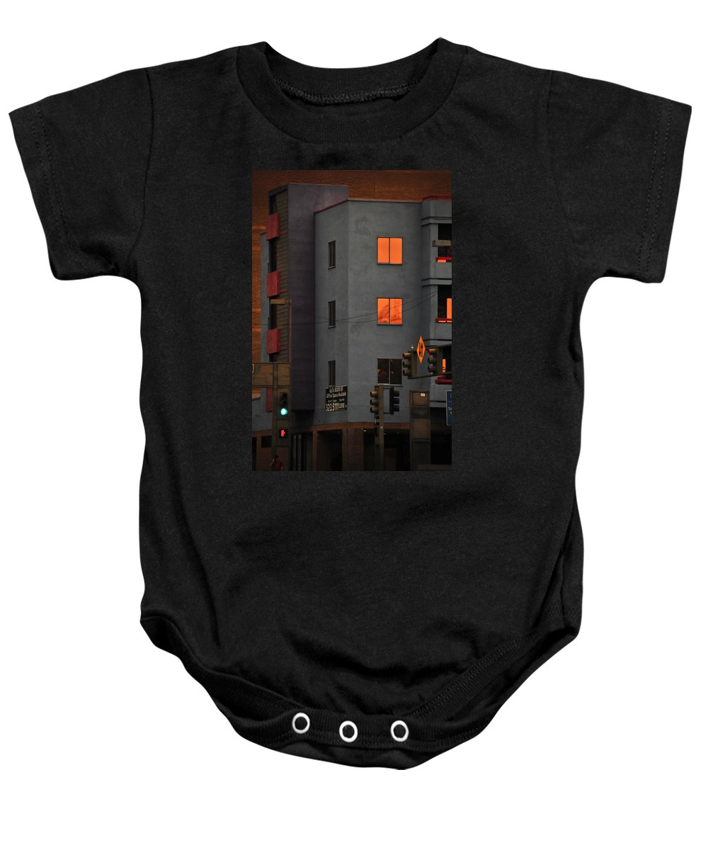 Go Baby Onesie featuring the photograph Go by Skip Hunt