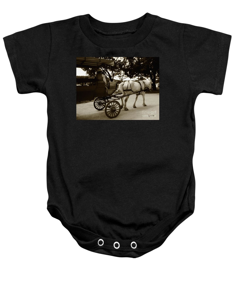 Driver Baby Onesie featuring the photograph Going Home by RC DeWinter