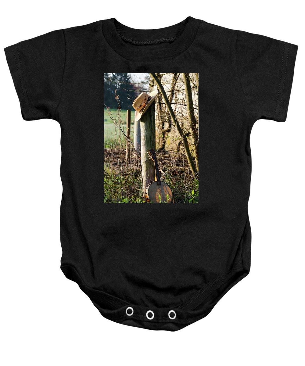 Going Baby Onesie featuring the photograph Going To The Country by Bill Cannon