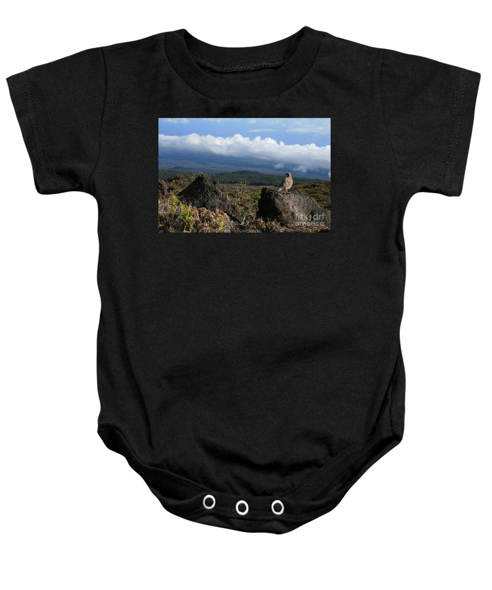 Aloha Baby Onesie featuring the photograph Good Morning Maui by Sharon Mau
