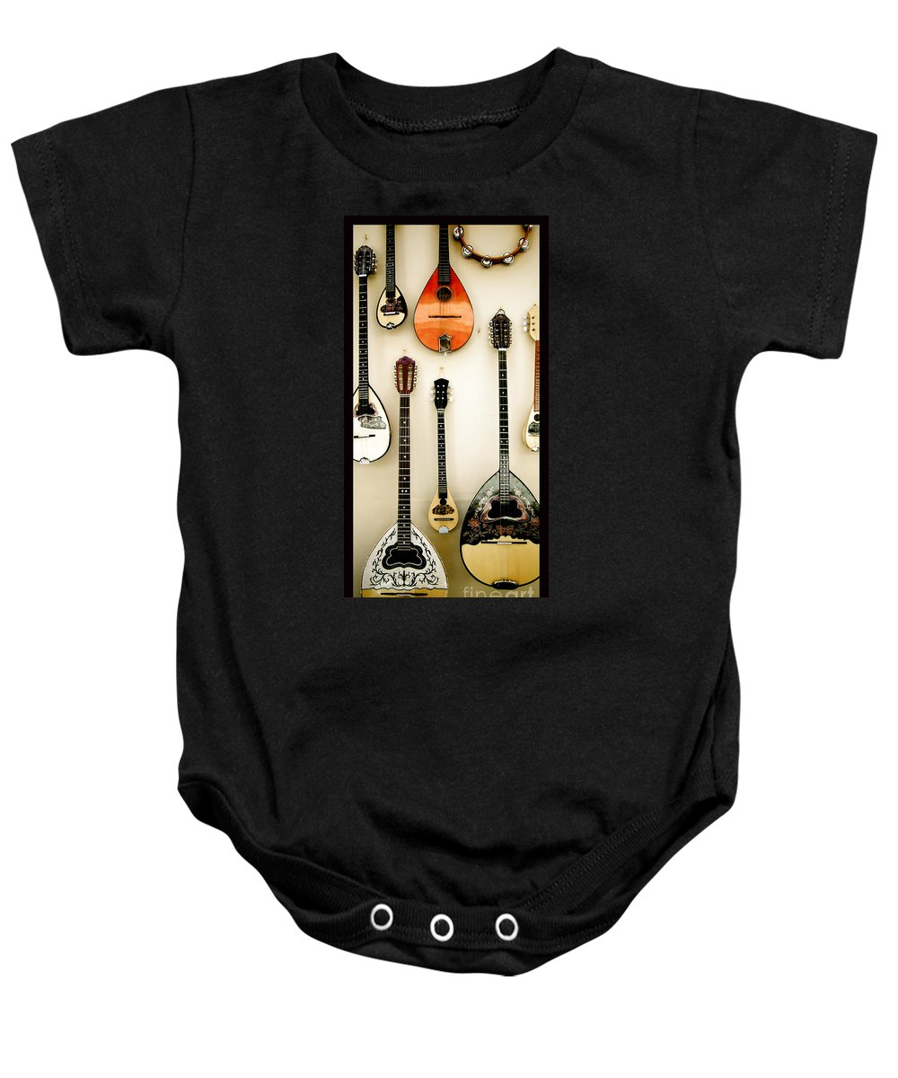 Greek Baby Onesie featuring the photograph Greek Instruments by Sonal Dave
