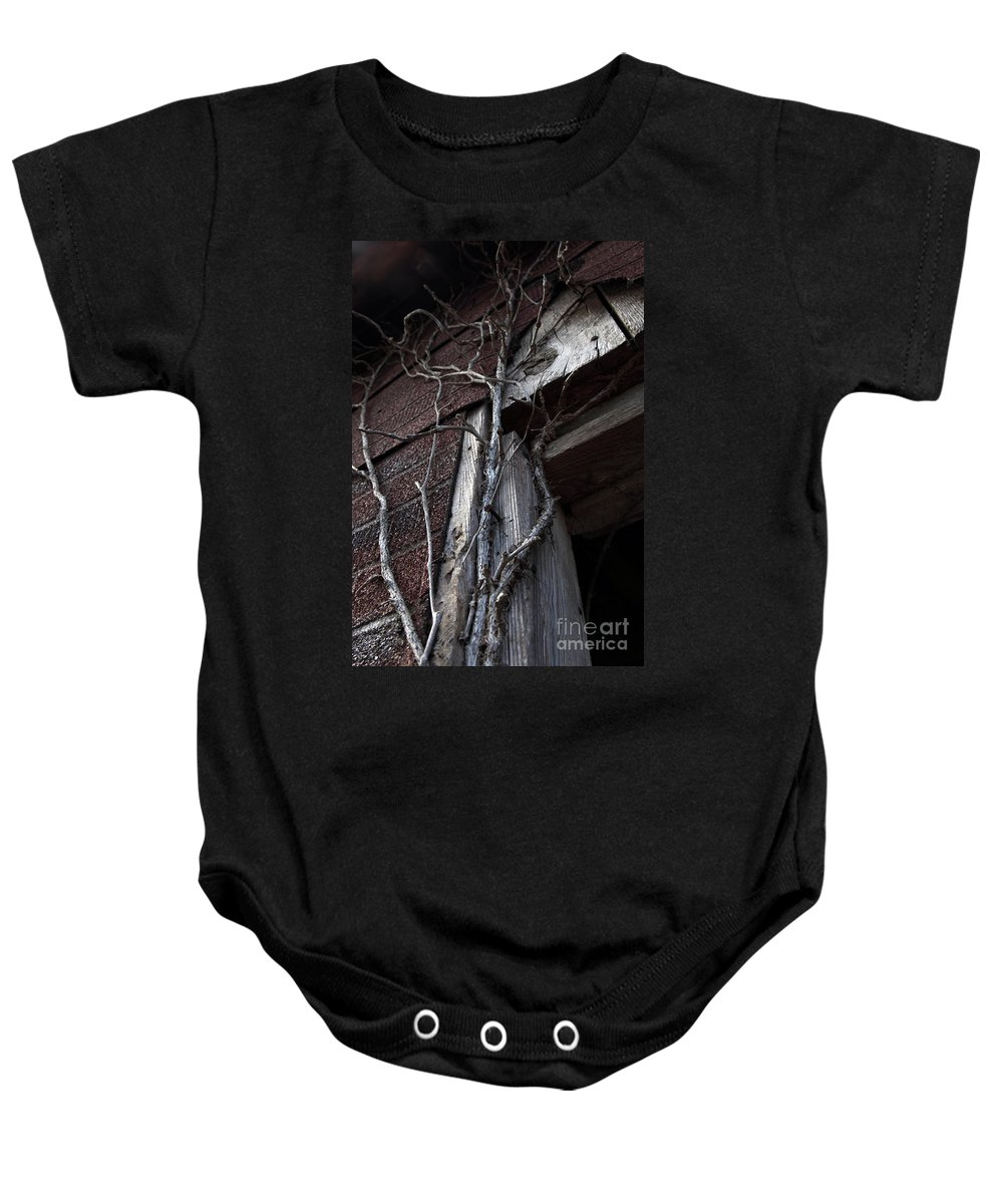 Broken Baby Onesie featuring the photograph Growth by Amanda Barcon