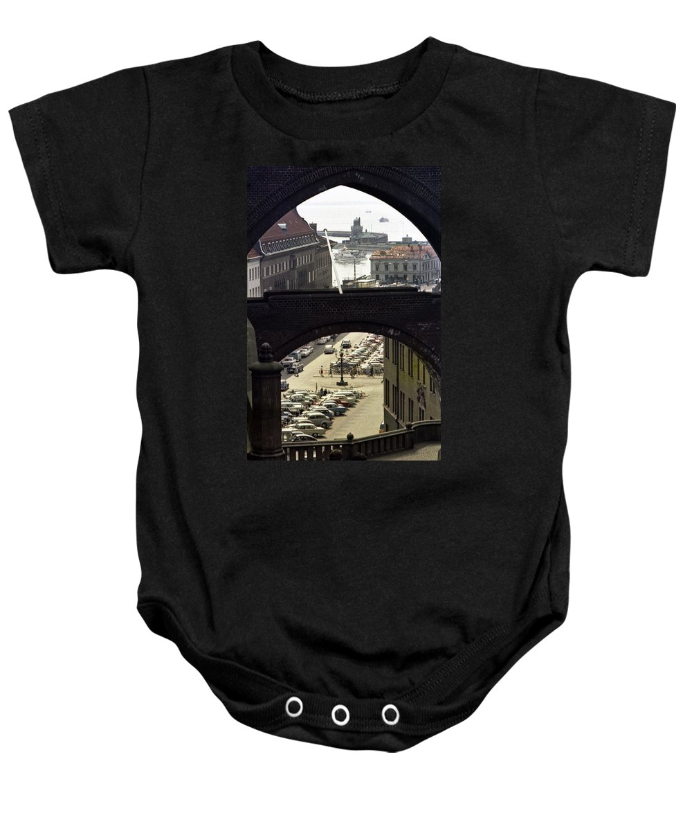 Sweden Baby Onesie featuring the photograph Halsingborg 3 by Lee Santa