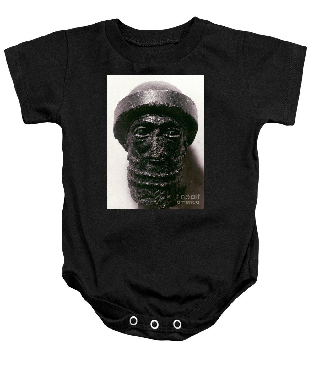 1750 B.c. Baby Onesie featuring the photograph Hammurabi (d. 1750 B.c.) by Granger