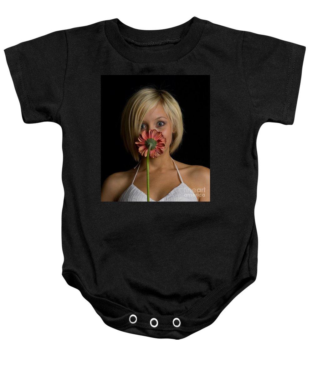 Flower Baby Onesie featuring the photograph Happy Flower by Scott Sawyer