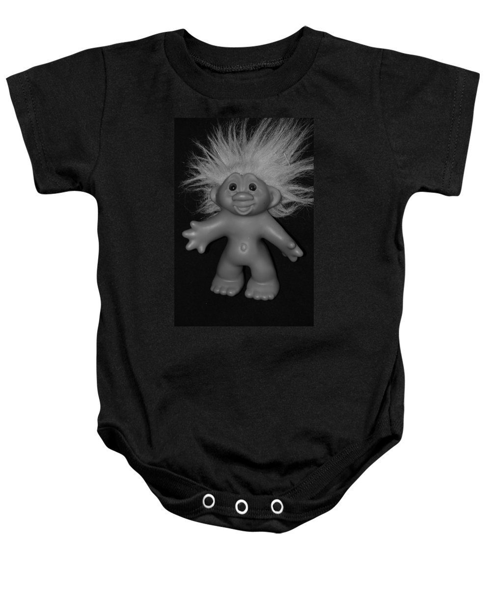 Happy Baby Onesie featuring the photograph Happy Troll by Rob Hans