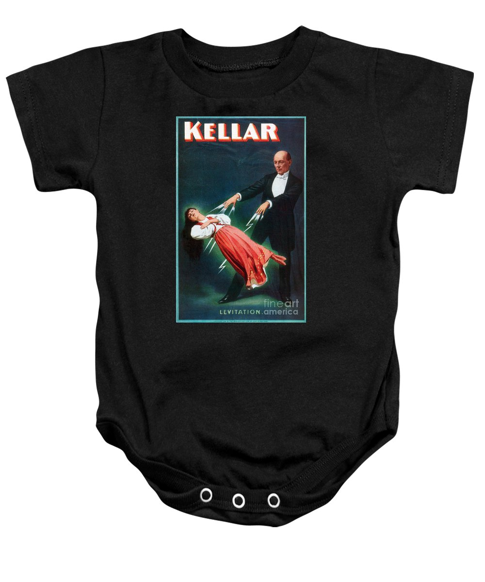 1894 Baby Onesie featuring the photograph Harry Kellar (1849-1922) by Granger