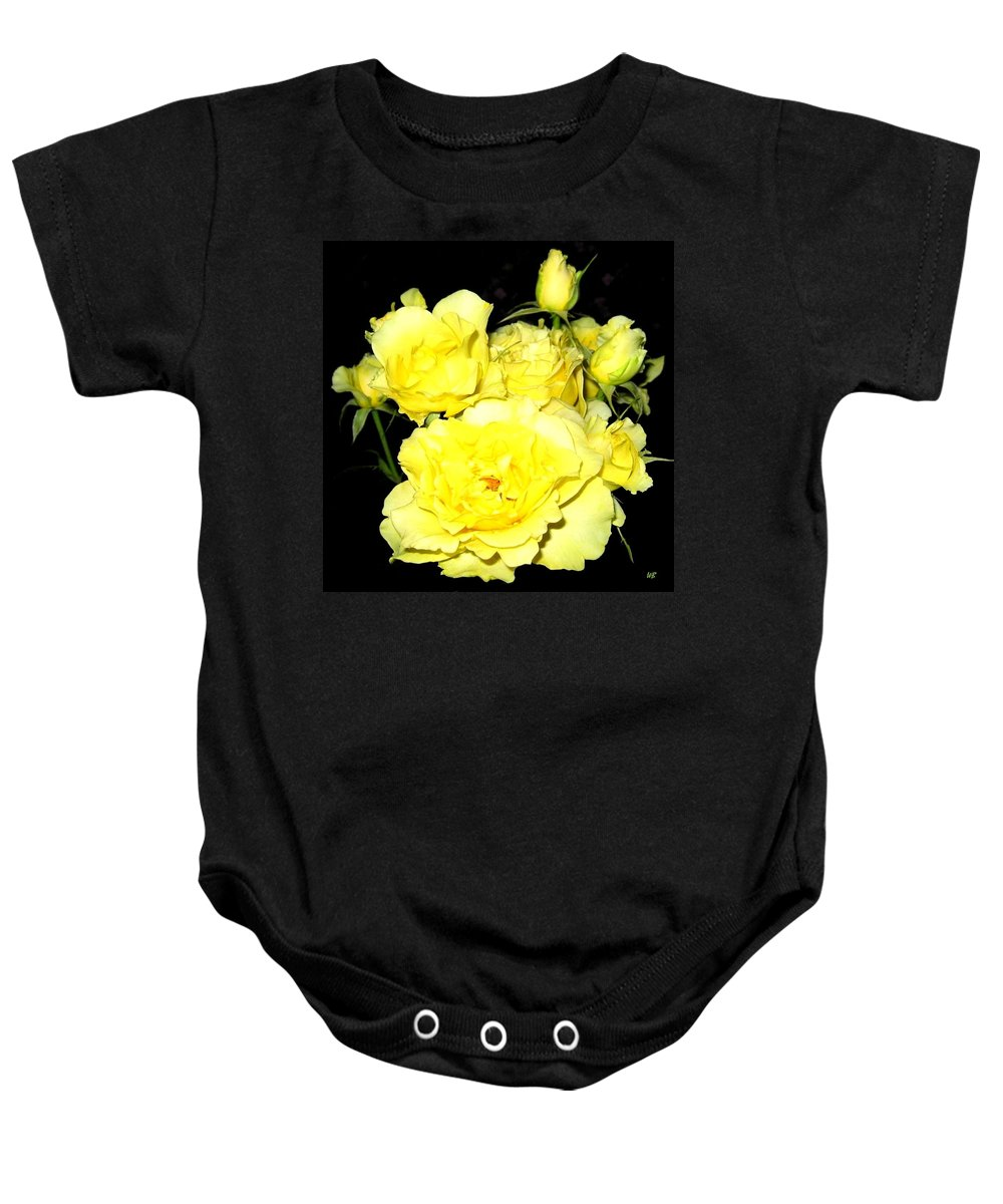 Roses Baby Onesie featuring the photograph Heaven Scent by Will Borden
