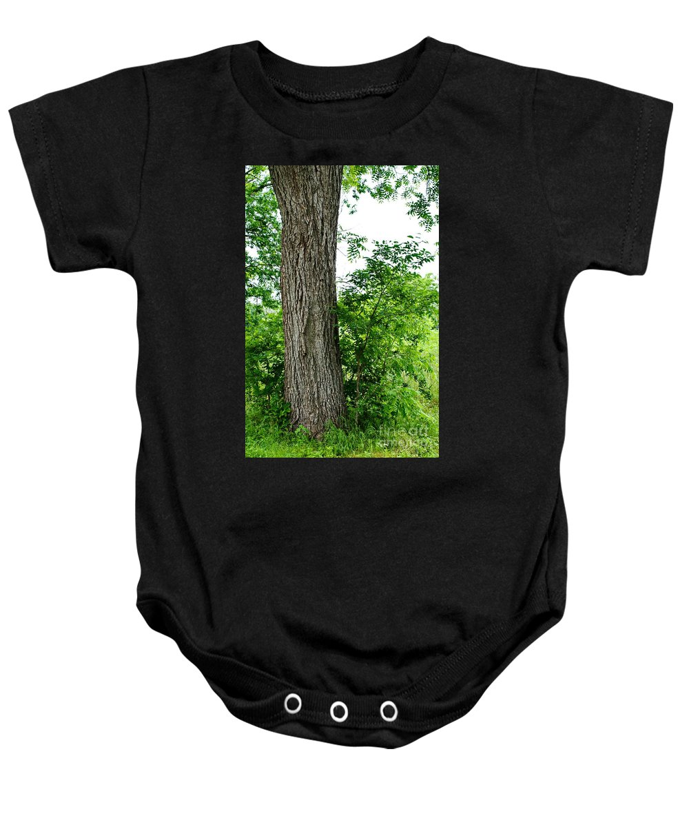 Tree Baby Onesie featuring the photograph Heaven's Tree - Color Version by Gary Richards