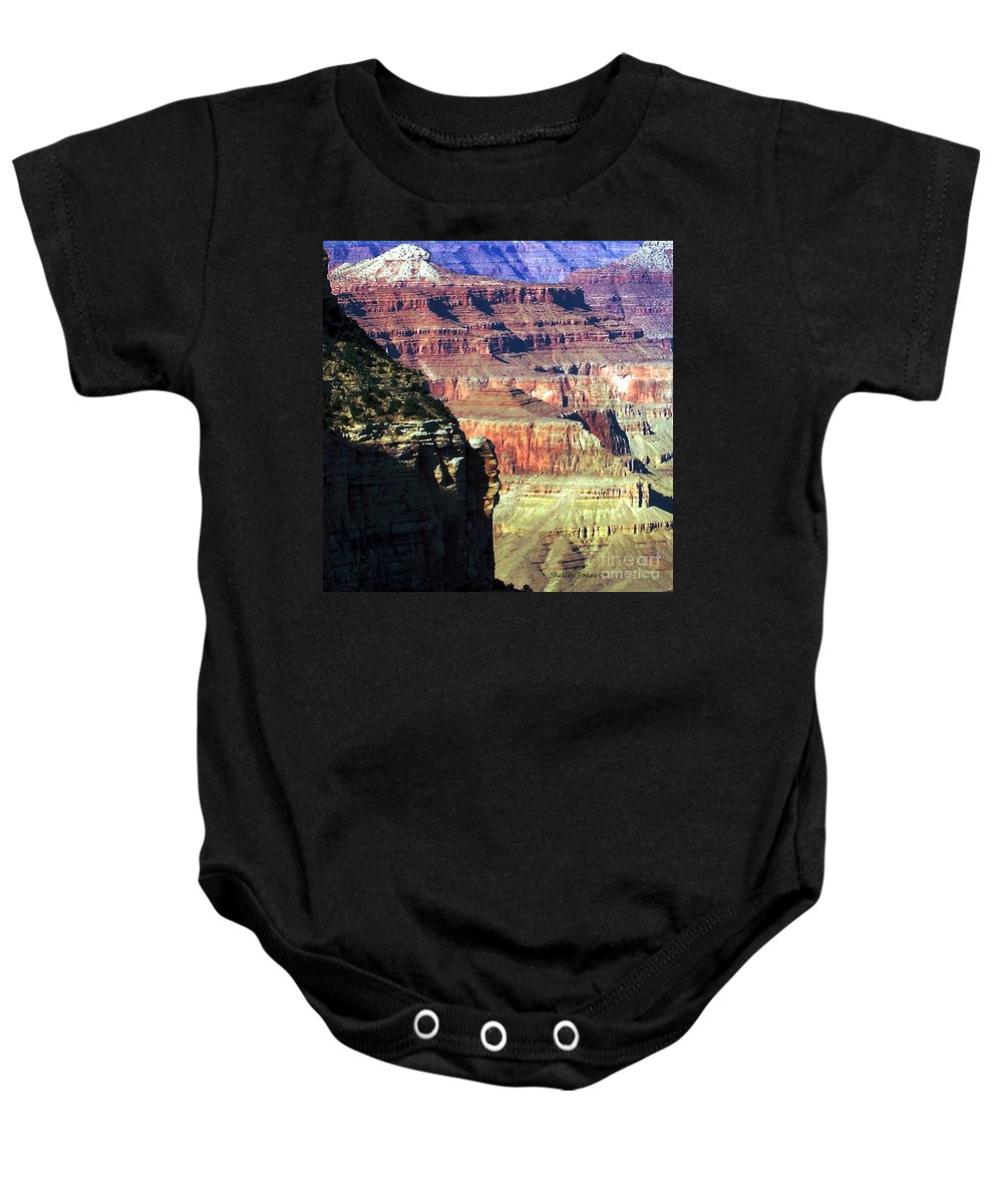 Photograph Baby Onesie featuring the photograph Heritage by Shelley Jones