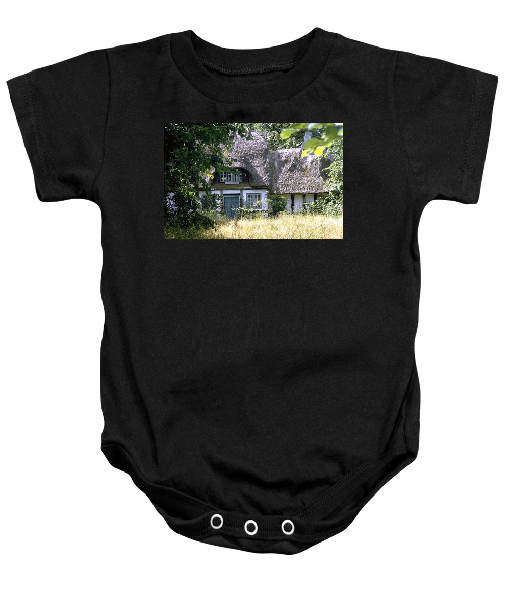 Denmark Baby Onesie featuring the photograph Hidden Beauty by Flavia Westerwelle